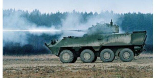 Tschechien kauft 107 statt 199 Steyr-Panzer