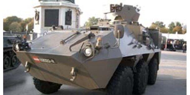 Steyr verkauft Radpanzer doch an Tschechien