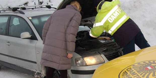Tipps gegen die Kälte für Autofahrer