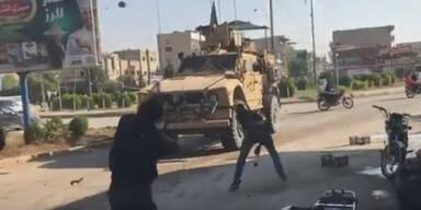 US-Truppen überschreiten Irak-Grenze: Hass schlägt ihnen entgegen