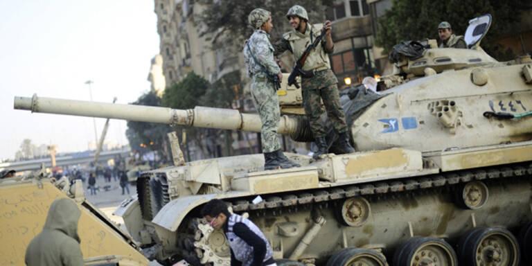Ägypten: Austro-Panzer im Einsatz