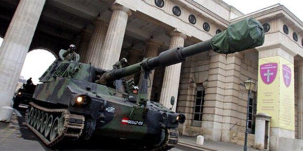 Darabos will Panzer einmotten
