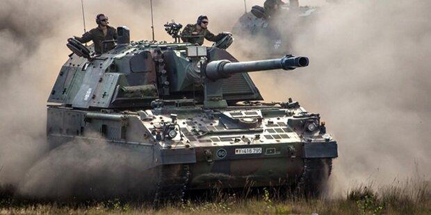 Panzer in Tirol 50 Meter abgestürzt