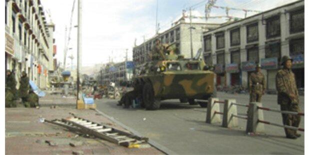 China erklärte Unruhen für eingedämmt