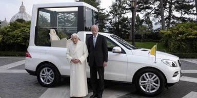 Neues Papamobil ist ein Hightech-SUV