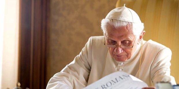 Papst-Rücktritt war kein Quoten-Renner