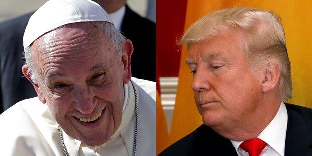 Trump überholte Papst auf Twitter