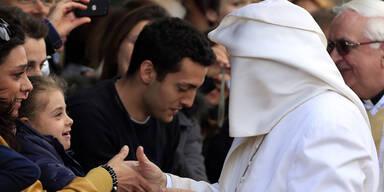 Papst feierte Grün-Donnerstag-Messe