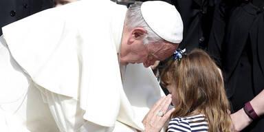 Papst traf schwer krankes Mädchen