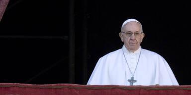 Papst ruft zu Frieden in der Welt auf