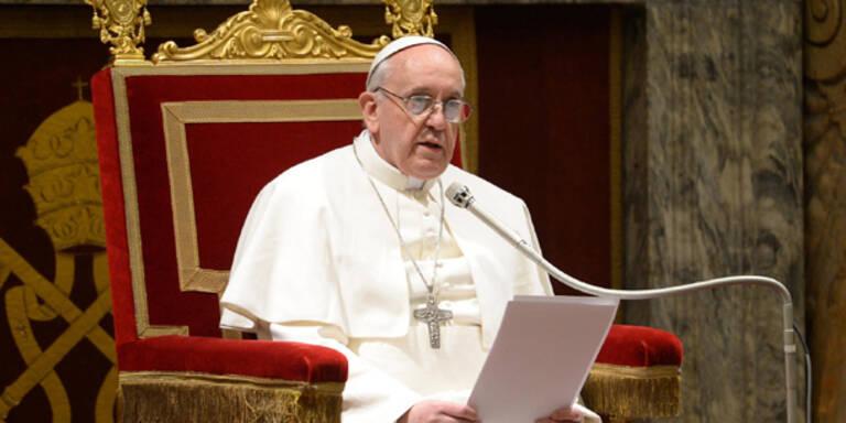 Ausnahmezustand vor erstem Papst-Auftritt