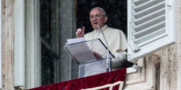 Papst fluchte während Angelus-Gebet