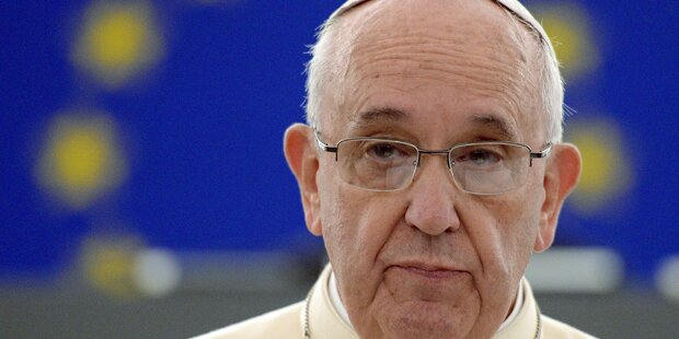 Papst findet Schlagen von Kindern ok
