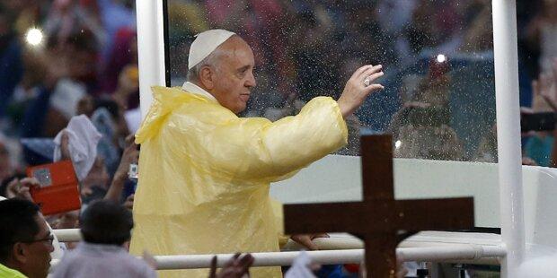 6 Millionen bei Papst-Messe in Manila