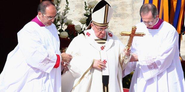 Papst geht heute ins Gefängnis