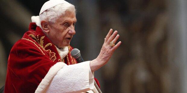 Kleines Papst-Programm in Benedikts letzten Wochen