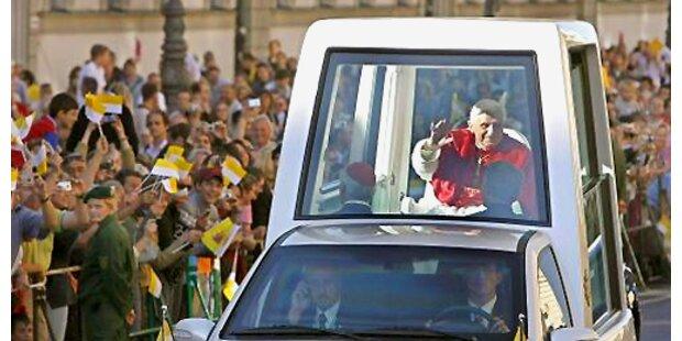 Angriff auf Papst endete mit Bewährungsstrafe
