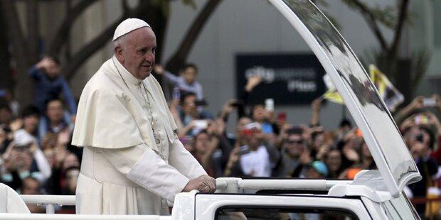 Papst erinnert an verzweifelte Auswanderer