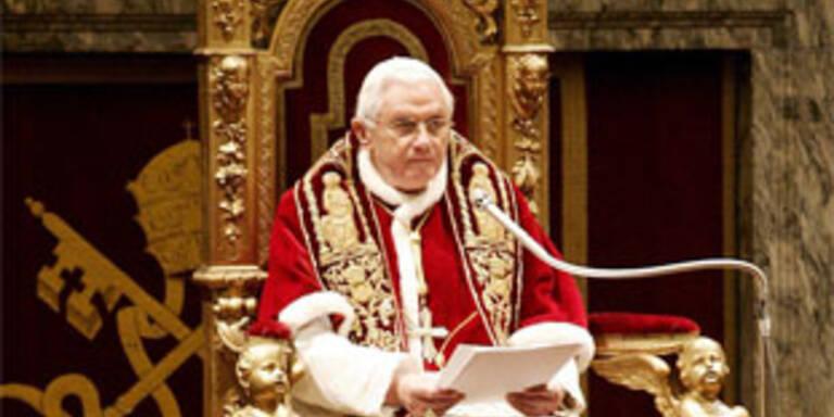 """Papst lobt """"wunderbare Österreich-Reise"""""""