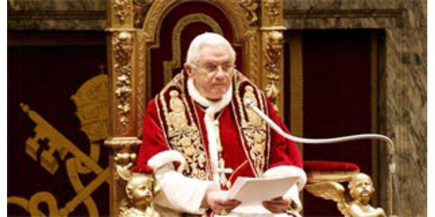 Papst lobt