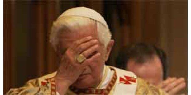 Papst entschuldigt sich für Kindesmissbrauch