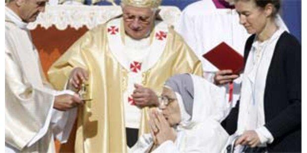 Erste Frau aus der Schweiz wird heiliggesprochen
