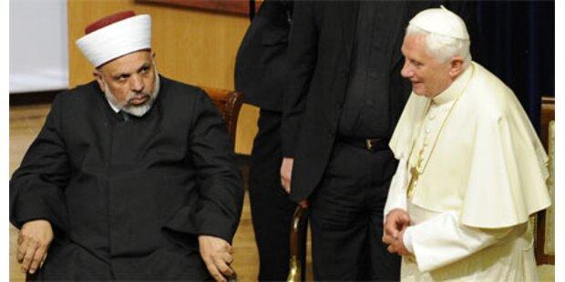 Eklat bei Papst-Besuch in Jerusalem