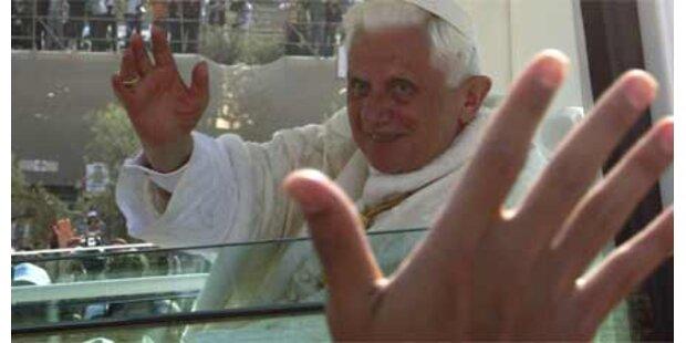 Papst Benedikt für Palästinenser-Staat