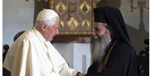 Papst ruft Gläubige zu Toleranz auf