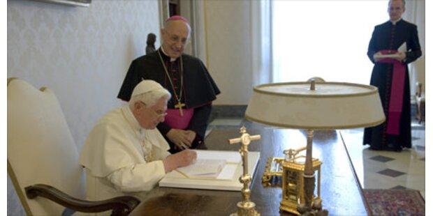Papst fordert neue Weltautorität