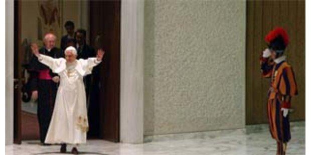 Peking stellt Papst-Schreiben offline