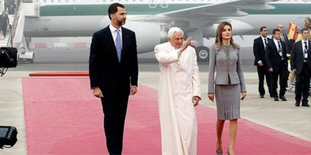 Papst besucht Spanien