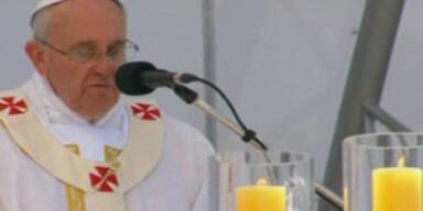 Papst: Gottesdienst an der Copacabana