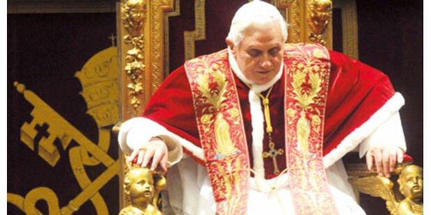 Sorge um Gesundheit von Papst Benedikt