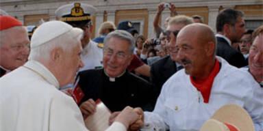 Vittorio Orio und der Papst