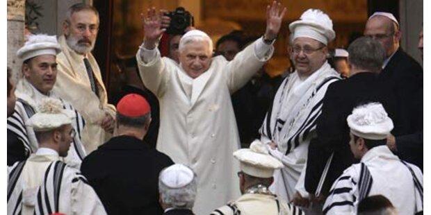 Papst sendet Appell gegen Antisemitismus
