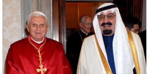 Papst empfängt Saudi-Arabischen König