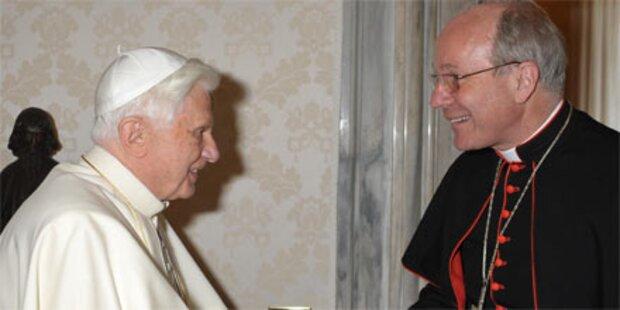Papst greift Kardinal Schönborn an
