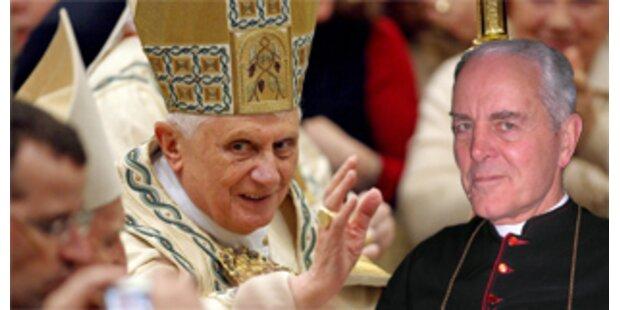 Lefebvristen bitten Papst um Verzeihung
