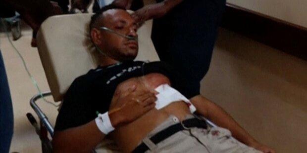 Polizei schießt auf demonstrierende Studenten