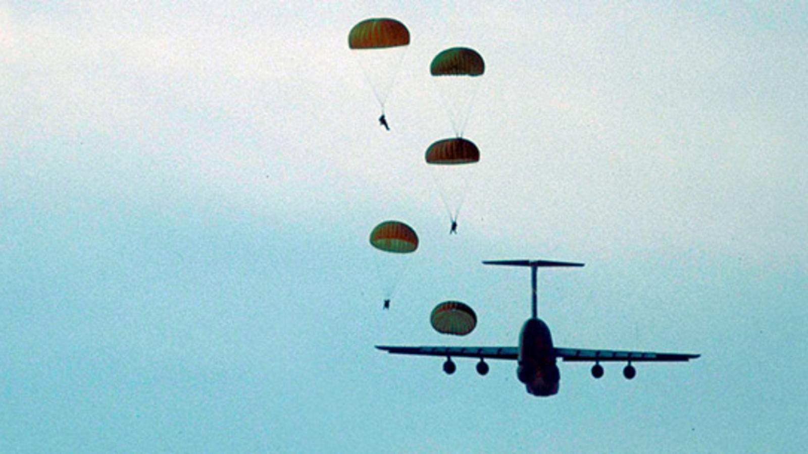 Sprung Ohne Fallschirm
