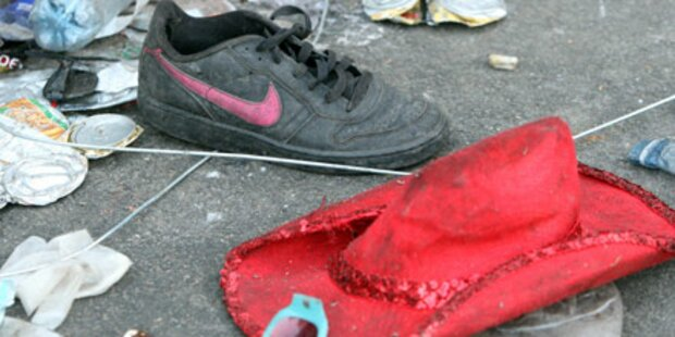 Chronologie: Unfälle bei Mega-Events