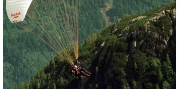 Paragleiterpilot stürzte in den Tod