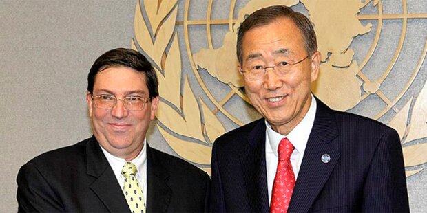 UNO fordert Aus für Sanktionen gegen Kuba
