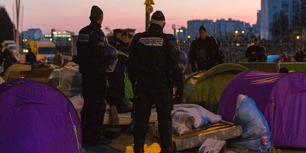 Paris: Polizei räumte erneut Flüchtlingscamp