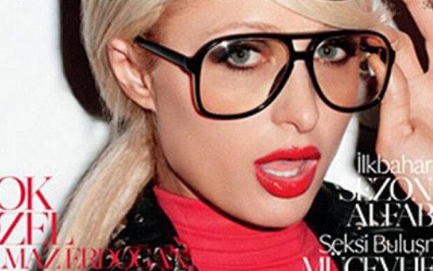 Paris schmückt das Cover der türkischen Vogue