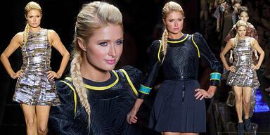 Paris Hilton am Catwalk für Triton