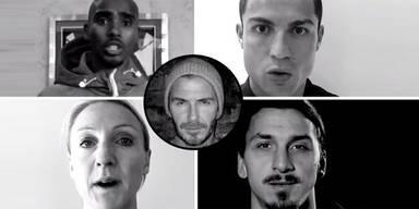Berührendes Video: Sportstars für Paris