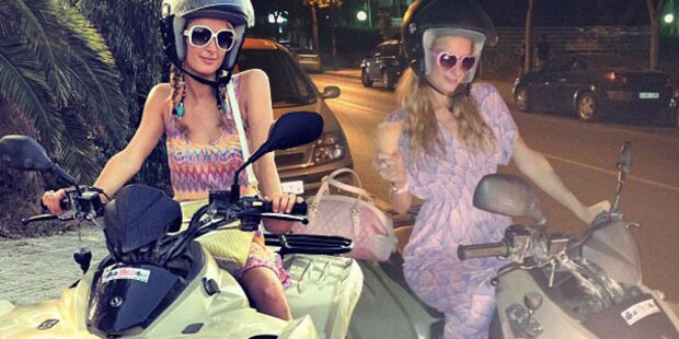Paris Hilton: So chic ist Quadfahren