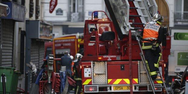 Acht Tote bei Brand in Pariser Wohnhaus